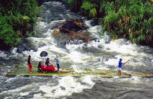 Bamboo Rafting Adventure II