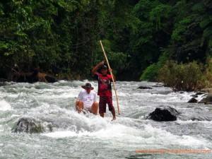 loksado bamboo rafting