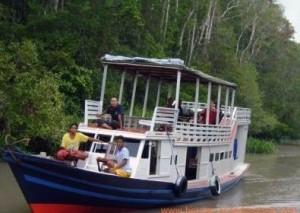 boat example in tanjungputing, River Tour